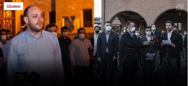 Ayasofya kararının ardından AK Partililerden büyük beğeni toplayan etkinlik