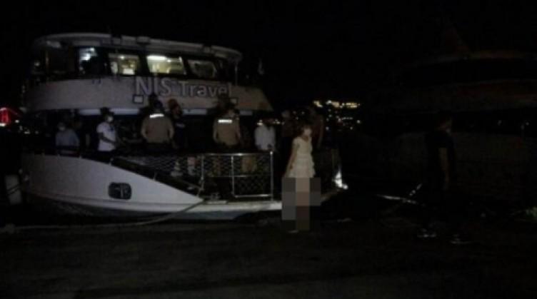 İstanbul'daki yat baskınından akılalmaz görüntüler