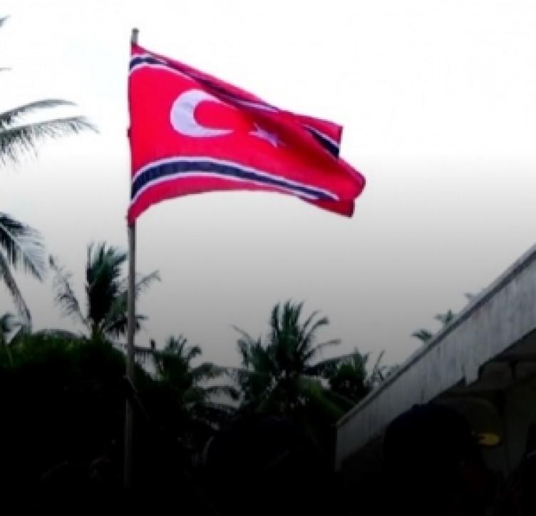 Türk Bayrağı ile bağımsızlık savaşı başlattılar! İşte BBC muhabirinin 'Türkiye sandım' dediği yer...