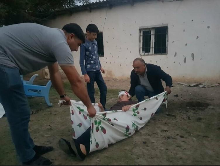 Ermenistan tarafından saldırıya uğrayan Azerbaycanlı vatandaşlara ait ilk kareler yayınlandı