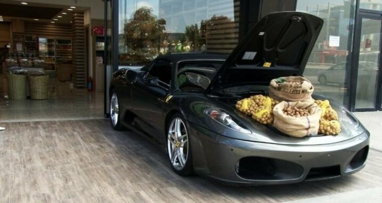 Ferrari'yi pazar tezgahı yaptı
