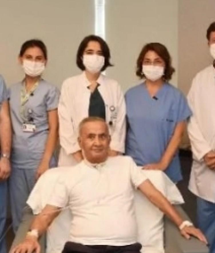 Türkiye'deki ilk koronavirüs hastalarından biri! 4 ay sonra yoğun bakımdan çıkınca bakın ilk ne sordu