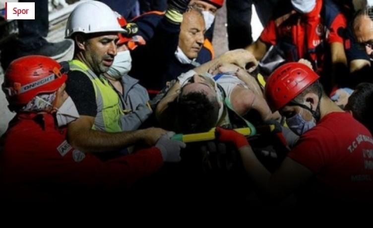 İzmir depreminden acı haber! Enkazdan çıkarılan futbolcu 27 gün sonra öldü