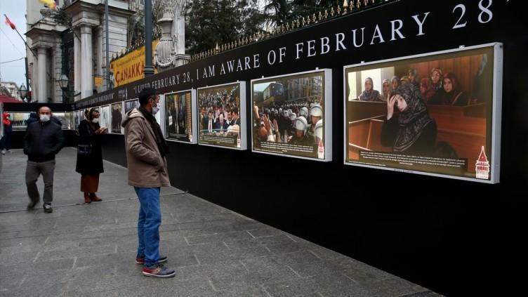 28 Şubat dehşetini konu alan fotoğraf sergisi açıldı!