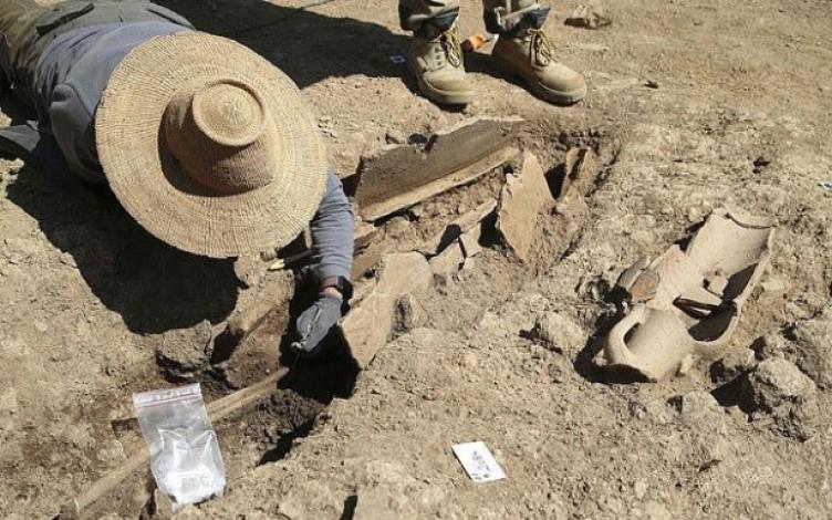 'Ölüler kenti' 1700 yıl sonra ortaya çıktı