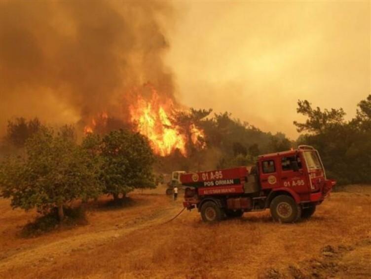 Yok böyle bir şey! Yangında bir tek orası yanmadı… Vatandaşlar dua etmeye başladı