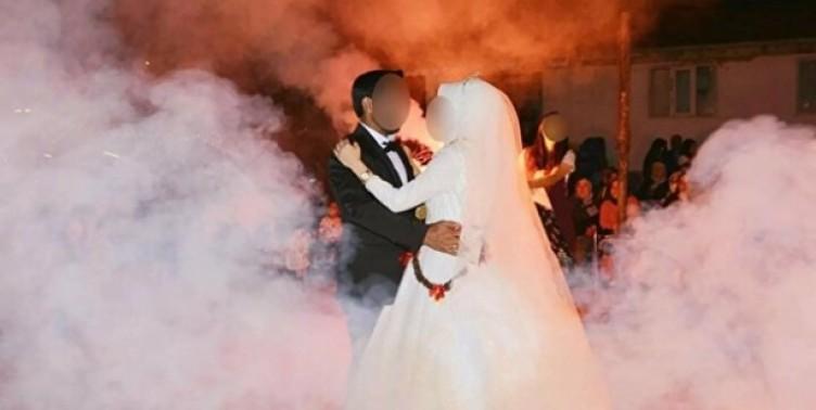Düğüne koronavirüs damgasını vurdu: Gelin pozitif çıkınca ortalık karıştı