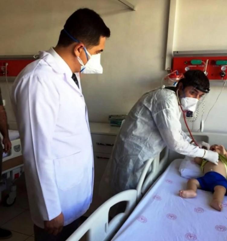 Diyarbakır'da koronavirüs nedeniyle çok sayıda çocuk yoğun bakıma alındı