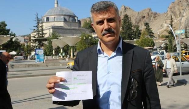 Tokat'ta Muhtar, 1 aylık maaşını Mehmetçiğe bağışladı