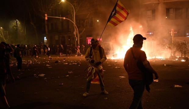 Katalonya'daki gösterilerde bilanço artıyor