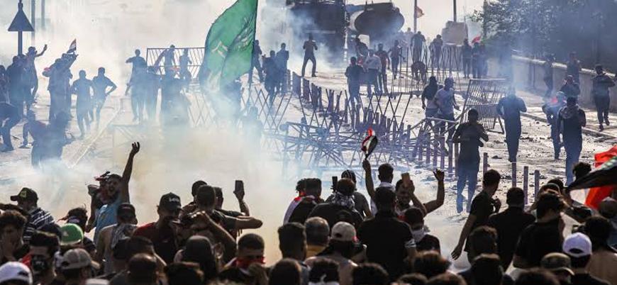 """''Yüzlerce göstericiyi İran destekli Şii milisler öldürdü"""""""
