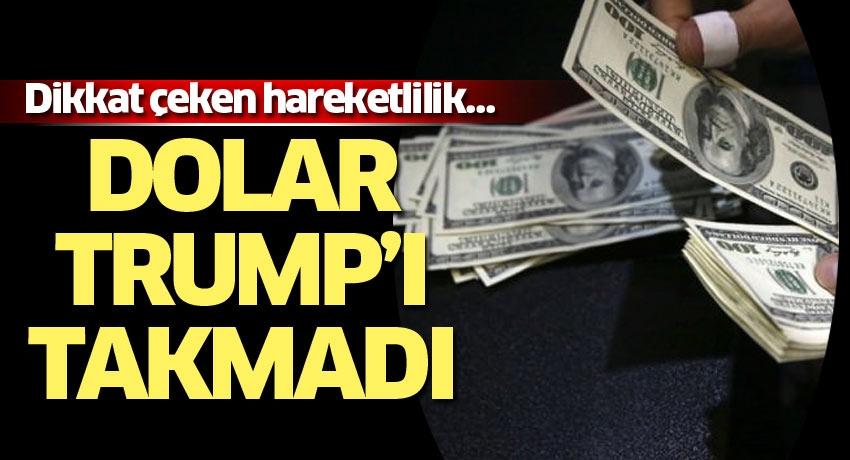 Dikkat çeken hareketlilik… Dolar Trump'ı takmadı