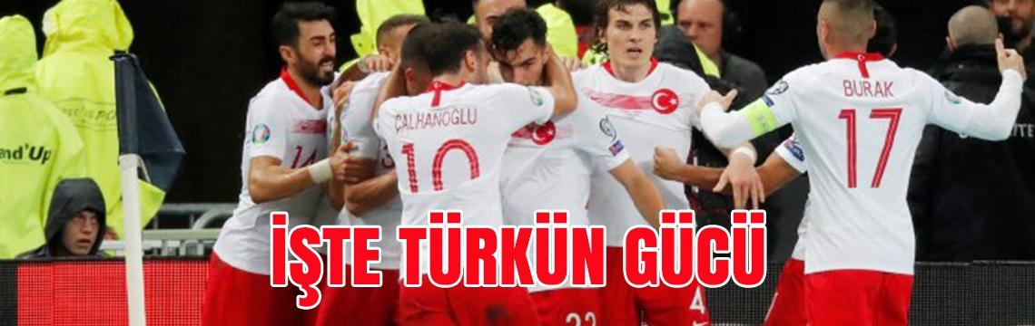 İşte Türkün gücü