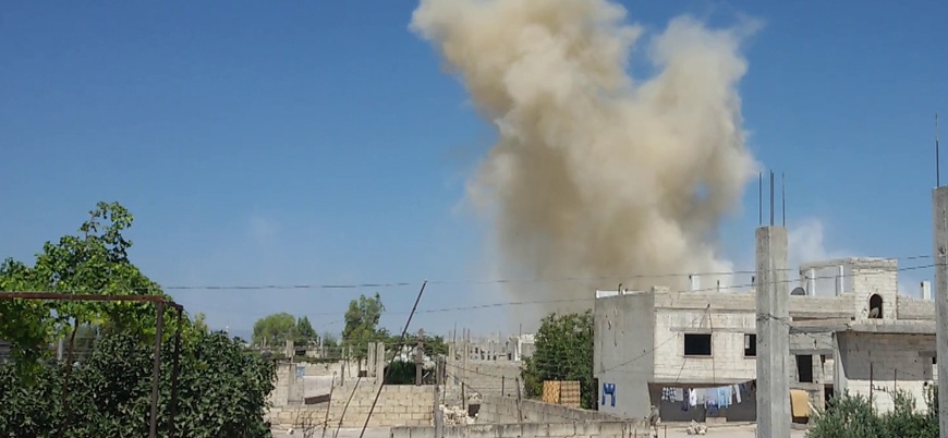 Katil Esed rejimi Halep'i vurdu: 2 şehit