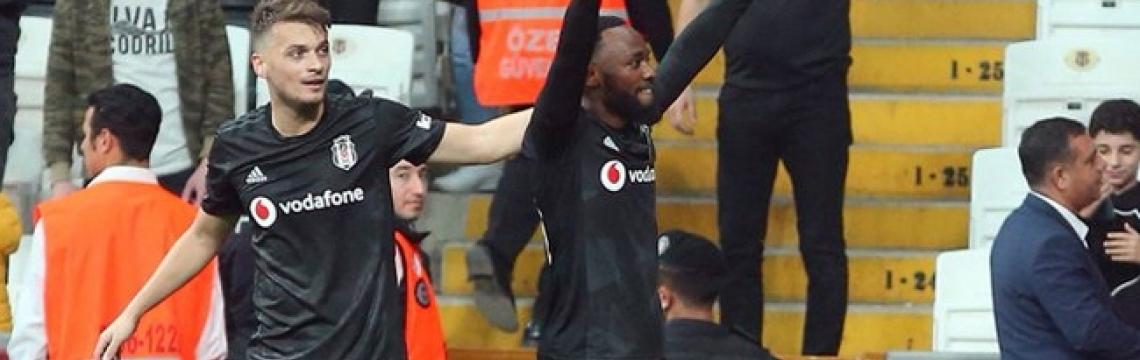 Beşiktaş'ın yükselişi sürüyor