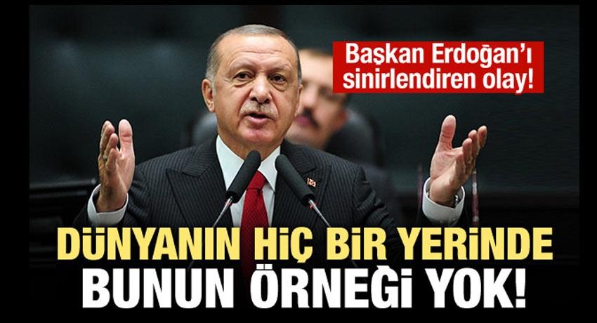 Erdoğan: Bu soruşturmanın dünyada örneği yok!
