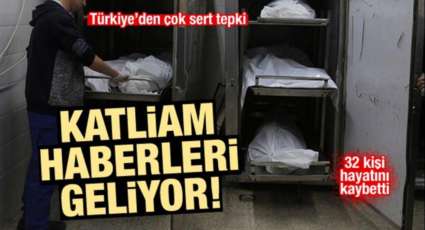 İsrail yine katliam yaptı: 32 kişi şehit oldu! Türkiye'den sert tepki