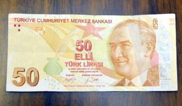 50 lirayı hatadan dolayı 50 bin liraya satıyor