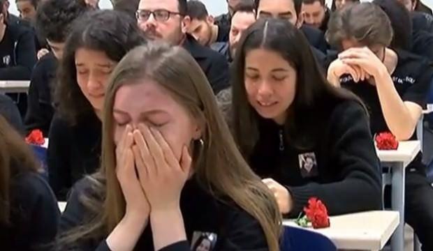 Ceren Özdemir için gözyaşları sel oldu: Bütün okul ağladı