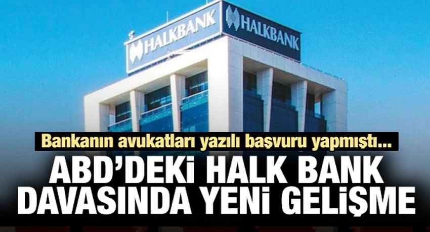 ABD'deki Halk Bankası'nda yeni gelişme