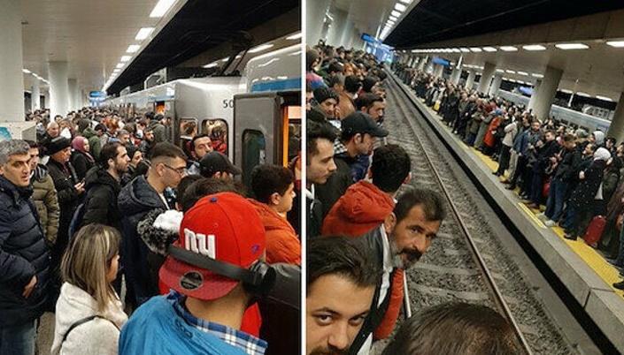 Ekrem İmamoğlu ne yapıyor: Metrolar çalışmıyor!