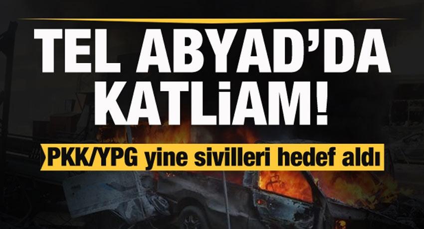 Tel Abyad'da bomba yüklü araç patladı!