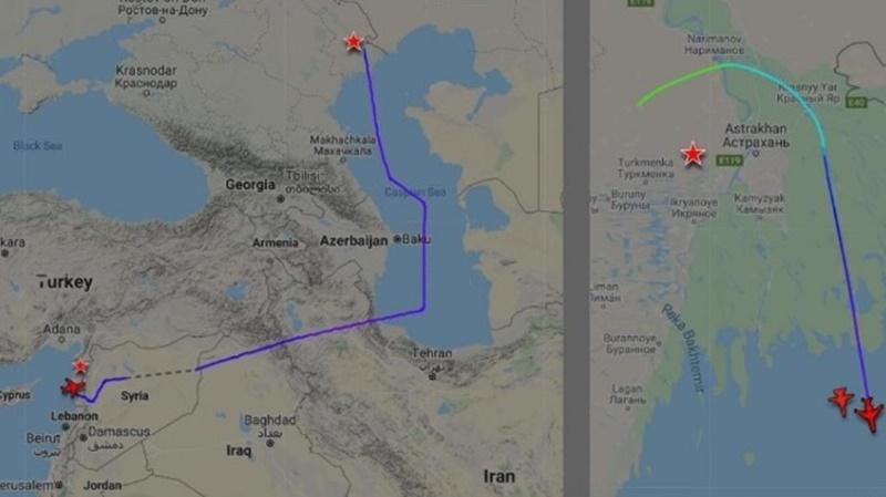 Türk uçakları Rus uçaklarını engellemeye başladı