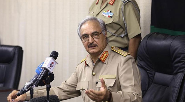 Darbeci Hafter: Türkiye Libya'dan çekilirse ateşkes yaparız