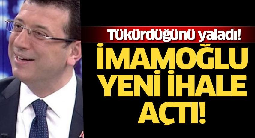 Hani Yenikapı'daki araçlar israftı? Tükürdüğünü yalayan İmamoğlu 157 araç için yeni ihale açtı