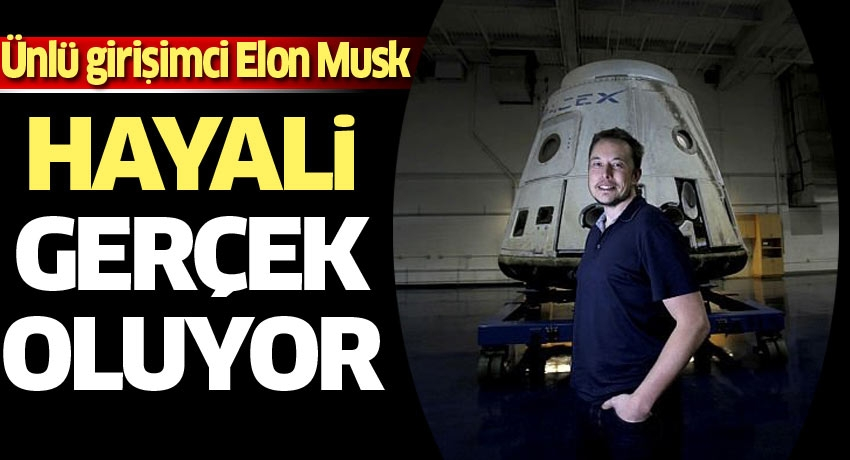 SpaceX bugün uzaya insan gönderiyor! Elon Musk'ın yıllardır planladığı...