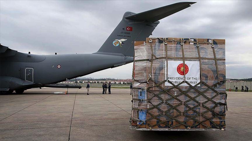 Türkiye'den o ülkeye yardım