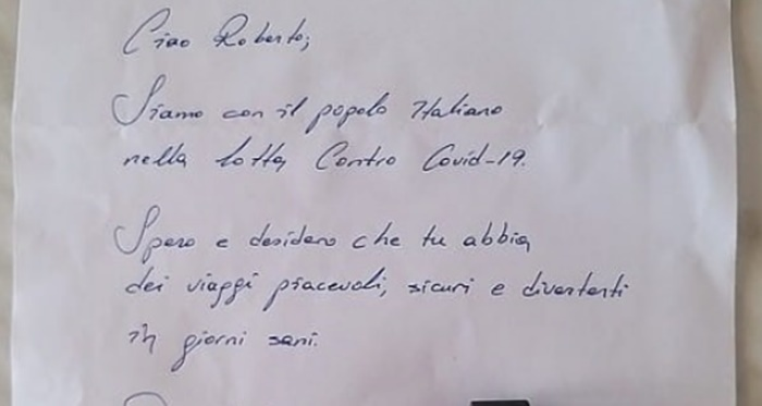 İstanbul'dan Modena'ya ulaşan dayanışma