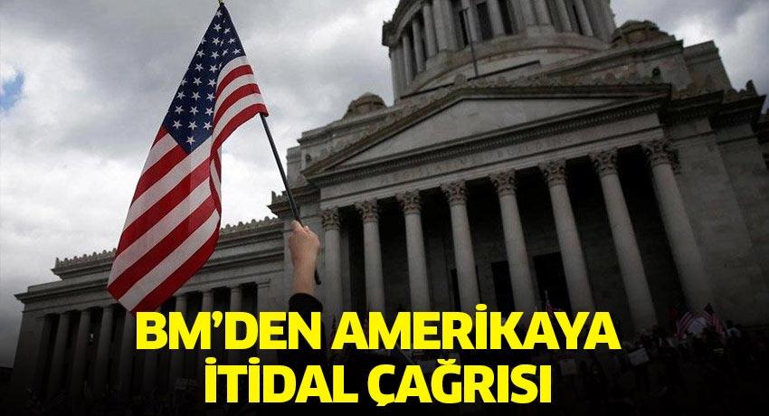 BM Genel Sekreteri Guterres'ten Amerikalı yetkililere protestolara müdahalede itidal çağrısı