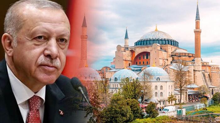 Erdoğan talimatı verdi: Ayasofya'ya formül aranıyor