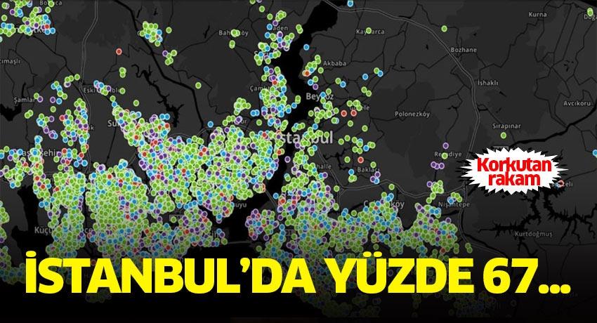İstanbul'da korkutan rakam günyüzüne çıktı! İstanbul nüfusunun yüzde 67'si...
