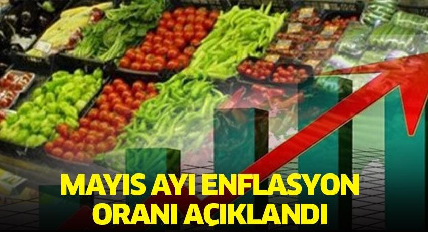 Mayıs ayı enflasyon oranı açıklandı! Fiyatı en çok artan gıda ise çilek oldu