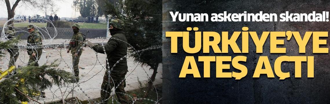 Yunanistan askerinden büyük skandal! Yunanistan, Türkiye'ye taciz ateşi açtı! Türkiye karşılık verdi