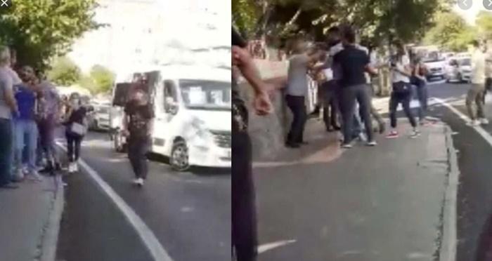 Korona mısın: Minibüste öksürük kavgası sokağa taştı