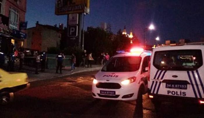 İstanbul Adalet Sarayı karşısında silahlı saldırı