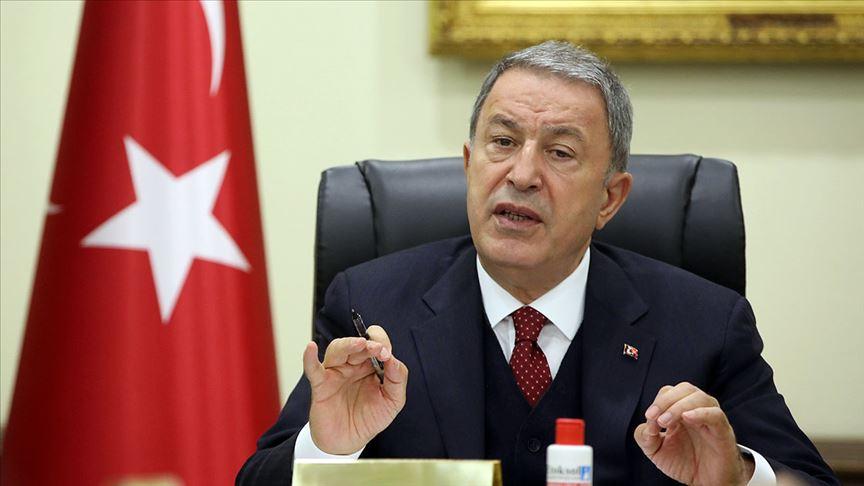 Milli Savunma Bakanı Hulusi Akar: TSK'nın şanlı üniformasını hiçbir hainin taşımasına müsaade etmeyeceğiz