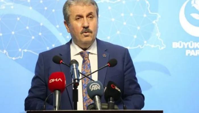 Mustafa Destici: Ermenistan işgal ettiği bölgelerden çekilsin