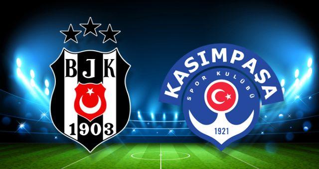 Beşiktaş'ın konuğu Kasımpaşa