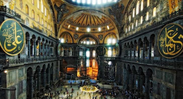 İki fethin, İki Fatih'in merkezi: Ayasofya