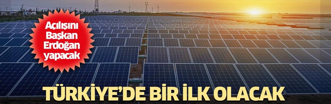 Açılışını Başkan Erdoğan yapacak! Türkiye'nin ilki olacak...
