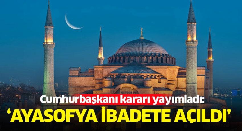 Cumhurbaşkanı Erdoğan 20.53'te ulusa seslenecek