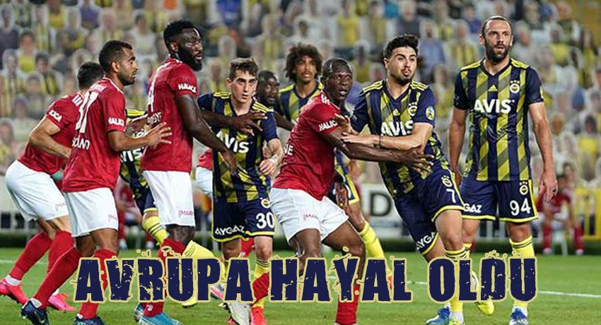 Fenerbahçe avrupa hayalini ateşe attı
