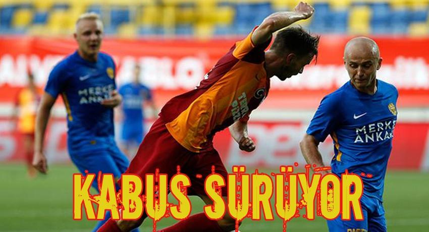 Galatasaray Ankara'da kazanamadı