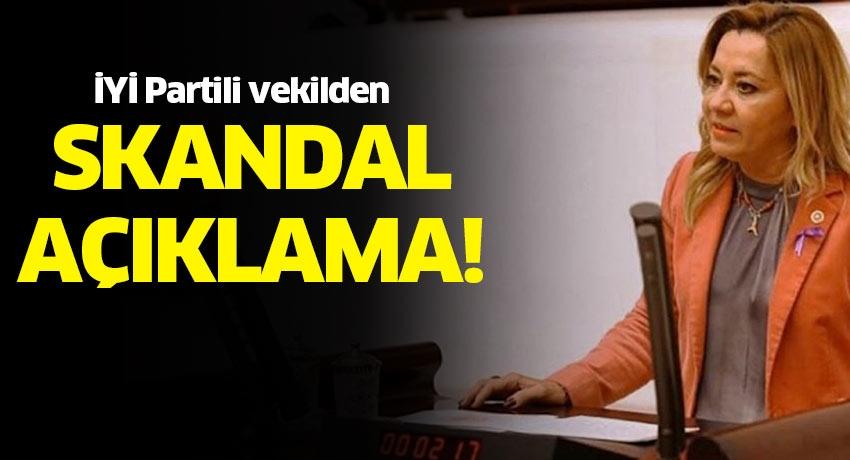İYİ Parti Milletvekili Aylin Cesur'dan terbiye sınırlarını aşan sözler! AK Parti'den sert tepki...