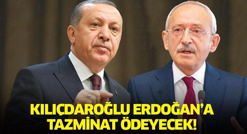 Kılıçdaroğlu, Erdoğan ve yakınlarına 197 bin TL tazminat ödeyecek