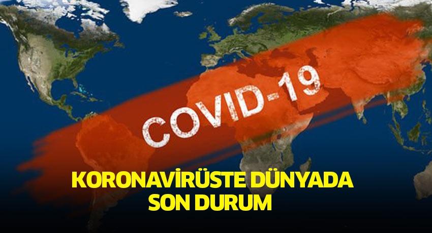 Koronavirüste dünyada son durum